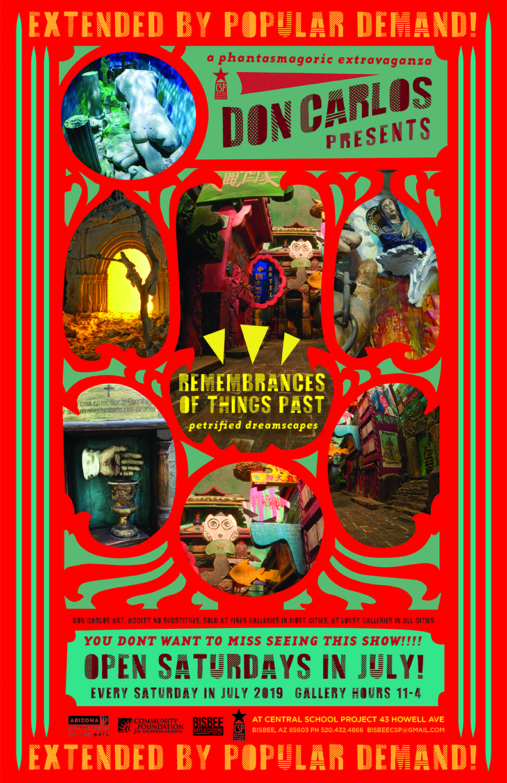 Bisbee Art Opening Poster