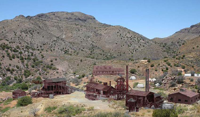 Carlisle Mine Buildings
