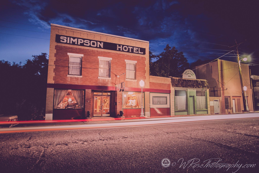 Simpson Hotel in Duncan Arizona