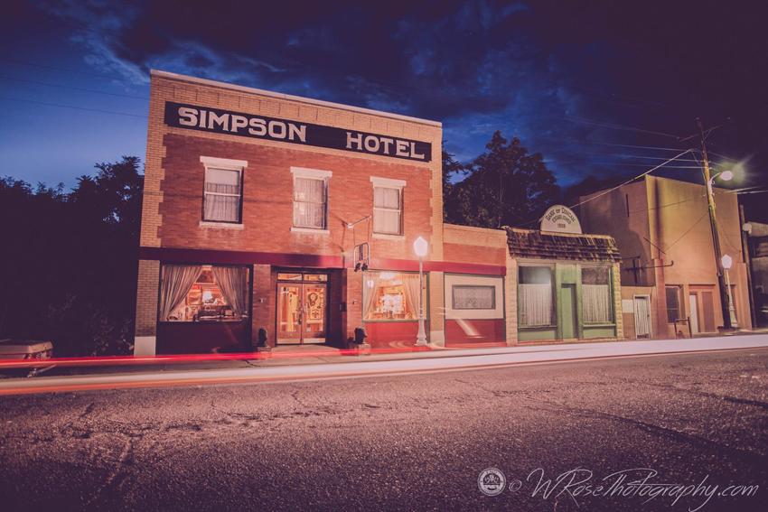 Simpson Hotel in Duncan Arizona