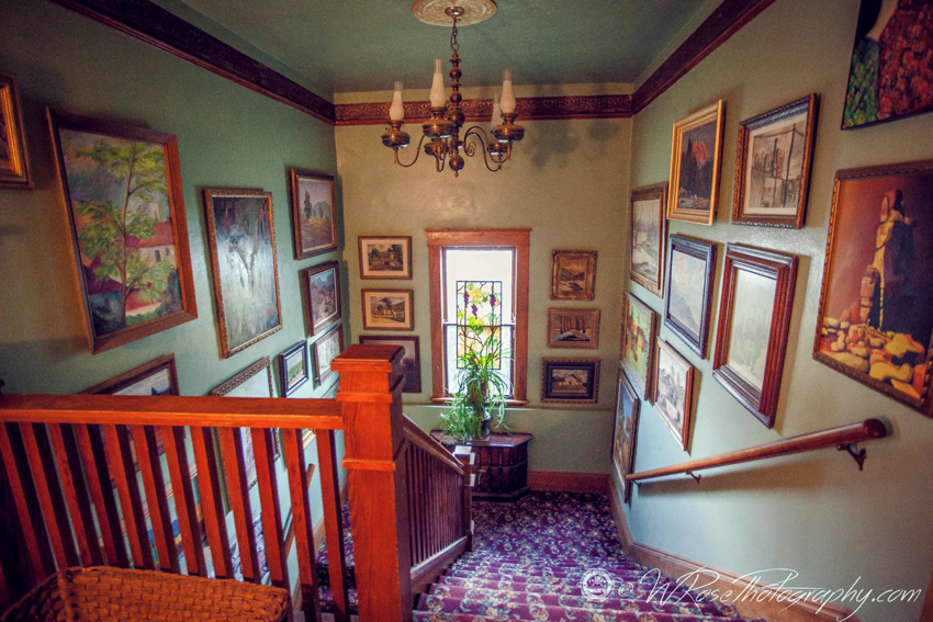 Simpson Hotel Stairway