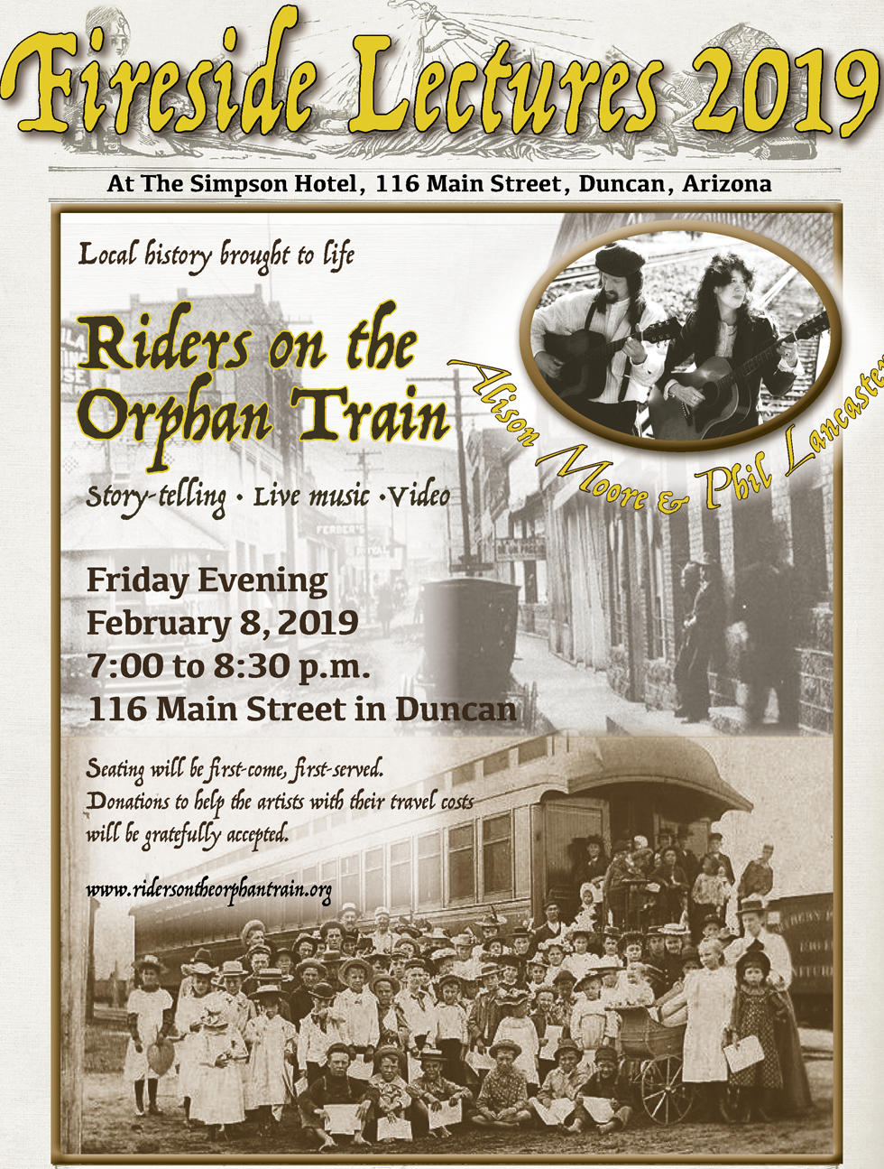 Orphan Train Poster
