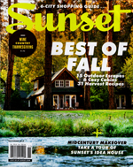 Cover - Sunset Magazine